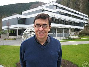 Steve Simpson (mathematician) - Steve Simpson at Oberwolfach, 2008