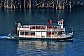Sternwheeler Rose just north of the Steel Bridge in 2009.jpg