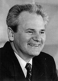 Milošević in the 1980s.