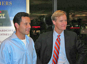 Brian Kilmeade - Brian Kilmeade (left) and Steve Doocy At Barnes and Noble in Westbury, NY