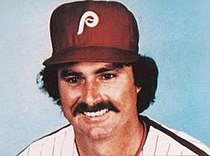 Portrait of Steve Carlton, Phillies' pitcher from 1972 to 1986
