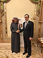 Steven Mnuchin and Mohammed Al-Jadaan at G20 Riyadh Summit.jpg