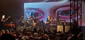 Steven Wilson - Steven Wilson band at Zelt-Musik-Festival 2016