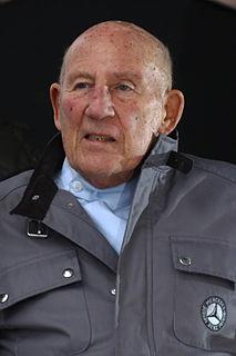 Stirling Moss British Formula One racing driver