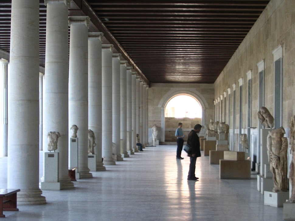 Stoa of Attalos Athens Agora