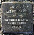 Stolperstein Alsenstr 28 (Wanns) Wolff Joseph.jpg