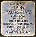 Stolperstein Elvira Sanders Platz 01.jpg