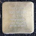 Stolperstein Fehrbelliner Str 20 (Mitte) Max Wisen.jpg