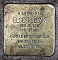 Stolperstein Helmstedter Str 27 (Wilmd) Else Pollak.jpg