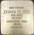 Stolperstein Johanna de Beer1.jpg