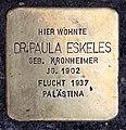 Stolperstein Meinekestr 3 (Charl) Paula Eskeles.jpg