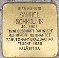 Stolperstein für Samuel Schkolnik 2018 (Graz).jpg