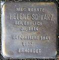 Stolpersteine Köln, Helene Schwarz (Nußbaumerstraße 7).jpg