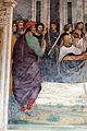 Storie di s. benedetto, 34 sodoma - Come Benedetto fa portare il corpo di Cristo sopra al monaco che la terra non voleva ricevere 02.JPG