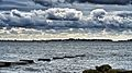 Stormy skies over Baiter, Poole harbour. (9757804352).jpg