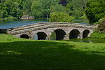 Rockwork Bridge at Stourhead