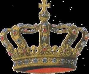 Hoop crown - Image: Ströhl Regentenkronen Fig. 09