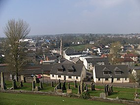 Strathaven - looking west from the War Memorial - geograph.org.uk - 1265748.jpg