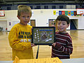 Students recognized for creative drug-free message 121031-A-AB123-001.jpg