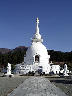 Nipponzan-Myōhōji-Daisanga - Stupa in Gotemba, Shizuoka, Japan