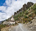 Stupa near Mungji - Annapurna Circuit, Nepal - panoramio.jpg
