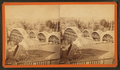 "Sudbury River Conduit, B.W.W., div. 4, sec. 15, Nov. 13, 1876. View of arches ""A,"" ""C,"" ""D,"" and ""E"" with centrings from house above Ellis St, from Robert N. Dennis collection of stereoscopic views.png"