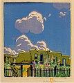 Summer Clouds by Gustave Baumann, 1925, color woodcut.jpg