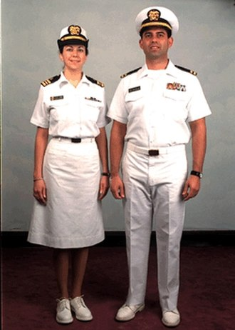 United States Public Health Service Commissioned Corps - Image: Summer whites