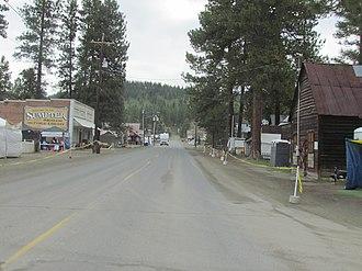 Sumpter, Oregon - Main Street