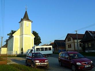 Šuňava - Image: Sunava kostel 2