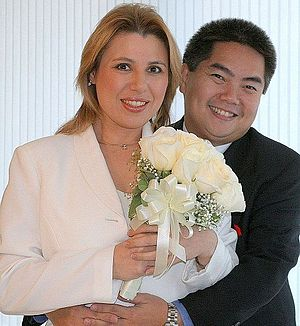 Susan Polgar - Susan Polgar wedding photo (2006)