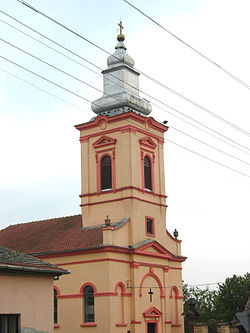 Sutjeska, Romanian Orthodox church.jpg
