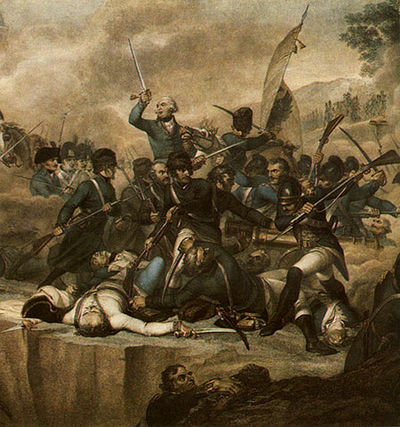 Serurier's division was captured during the Battle of Cassano. Suvorovs Battle By Adda.jpg