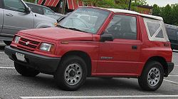 Suzuki Sidekick I con carrcería descapotable