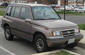 Suzuki Vitara - Suzuki Sidekick JX 5-door (US)