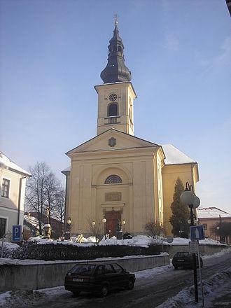 Česká Třebová - Church of St. James