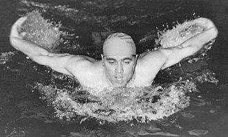 Herbert Klein (swimmer) - Klein in 1951