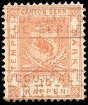 Switzerland Bern 1880 revenue 15rp - 9E.jpg