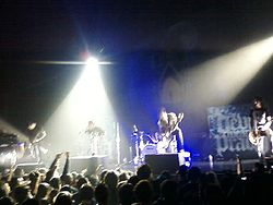 The Devil Wears Prada in concerto a Los Angeles nel 2010