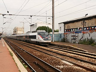 high speed train used in France by the SNCF