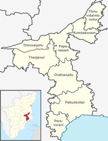 Thanjavur Taluk - Wikipedia