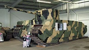 Super-heavy tank - British TOG2 (80 tons) at The Tank Museum, Bovington