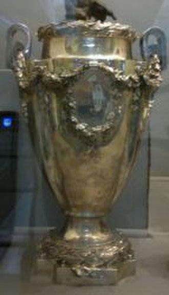 Campeonato Brasileiro Série A - The Taça Brasil trophy.