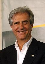 Tabaré Vázquez, attuale presidente dell'Uruguay.