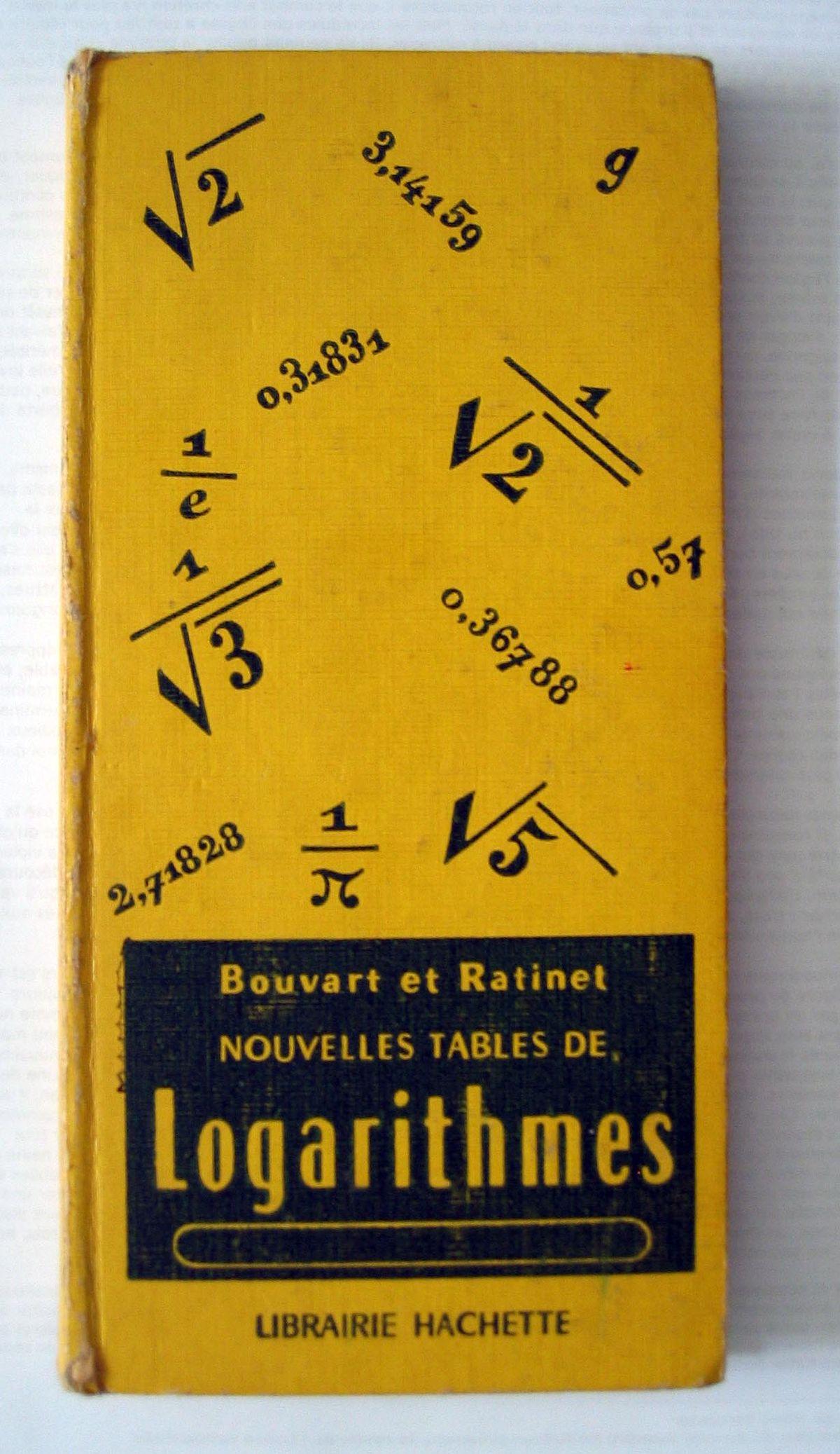 Table de logarithmes wikip dia - La table de l ill illkirch ...