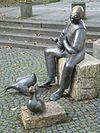 Monument to Thaddäus Troll in Bad Cannstatt