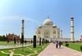 Taj Mahal with Taj Mosque - Agra 2014-05-14 3797-3799 Archive.TIF