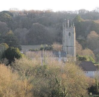 Tamerton Foliot - St. Mary's Church, view from north