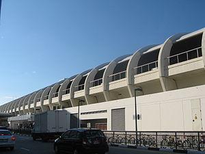 Tampines MRT Station - Exterior of Tampines MRT Station. (East West Line)