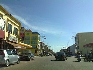 Tangkak - Image: Tangkak Main Road